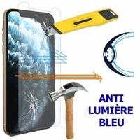 """Apple iPhone 11 Pro 5.8"""" A2215 A2160 A2217 (non compatible iPhone 11 6.1""""/ iPhone 11 Pro Max 6.5""""): 1 Film Écran Verre Trempé Anti Lumière Bleu"""