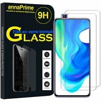 """Xiaomi Poco F2 Pro 5G 6.67""""/ Redmi K30 Pro/ K30 Pro Zoom M2004J11G [Les Dimensions EXACTES du telephone: 163.3 x 75.4 x 8.9 mm]: Lot / Pack de 2 Films de protection d'écran Verre Trempé"""