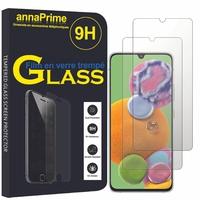 """Samsung Galaxy A90 5G 6.7"""" SM-A908B A908N A908Q A9080 (non compatible Galaxy A90 4G): Lot / Pack de 2 Films de protection d'écran Verre Trempé"""