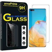 """Huawei P40 Pro 6.58"""" ELS-NX9 ELS-N04 ELS-AN00 ELS-TN00 (non compatible Huawei P40 6.1""""): 1 Film de protection d'écran Verre Trempé"""