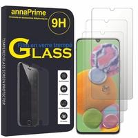 """Samsung Galaxy A90 5G 6.7"""" SM-A908B A908N A908Q A9080 (non compatible Galaxy A90 4G): Lot / Pack de 3 Films de protection d'écran Verre Trempé"""