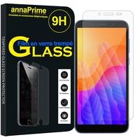 "Huawei Y5p/ Honor 9S 5.45"" DRA-LX9 DUA-LX9 [Les Dimensions EXACTES du telephone: 146.5 x 70.9 x 8.4 mm]: 1 Film de protection d'écran Verre Trempé"