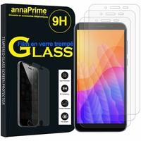 """Huawei Y5p/ Honor 9S 5.45"""" DRA-LX9 DUA-LX9 [Les Dimensions EXACTES du telephone: 146.5 x 70.9 x 8.4 mm]: Lot / Pack de 3 Films de protection d'écran Verre Trempé"""