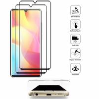 """Xiaomi Mi Note 10 Lite 6.47"""" M2002F4LG M1910F4G (non compatible Xiaomi Mi 10 Lite 5G 6.57"""") [Les Dimensions EXACTES du telephone: 157.8 x 74.2 x 9.7 mm]: Lot/ Pack de 2 Films en Verre Trempé Bord Incurvé Resistant"""
