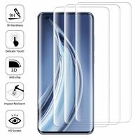 """Xiaomi Mi 10 5G/ Mi 10 Pro 5G 6.67"""" M2001J1G M2001J2G M2001J2I (non compatible Xiaomi Mi Note 10/ Mi Note 10 Pro 6.47""""): Lot/ Pack de 3 Films en Verre Trempé Bord Incurvé Resistant"""