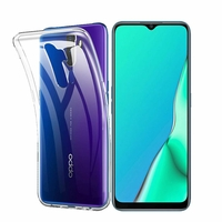 "Oppo A9 (2020)/ Oppo A11X 6.5"" CPH1937 CPH1939 CPH1941 PCHM30 PCHT30 (non compatible Oppo A9 2019 6.53""): Coque Silicone gel UltraSlim et Ajustement parfait - TRANSPARENT"