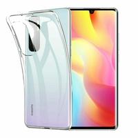 """Xiaomi Mi Note 10 Lite 6.47"""" M2002F4LG M1910F4G (non compatible Xiaomi Mi 10 Lite 5G 6.57"""") [Les Dimensions EXACTES du telephone: 157.8 x 74.2 x 9.7 mm]: Coque Silicone gel UltraSlim et Ajustement parfait - TRANSPARENT"""