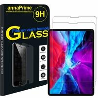 Apple iPad Pro 11 (2020)/ iPad Pro 11-inch (2nd generation) A2068 A2230 A2228 A2231 [Les Dimensions EXACTES du Tablette: 247.6 x 178.5 x 5.9 mm]: Lot / Pack de 2 Films de protection d'écran Verre Trempé