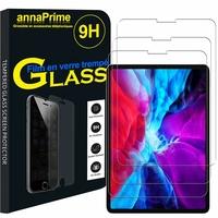Apple iPad Pro 11 (2020)/ iPad Pro 11-inch (2nd generation) A2068 A2230 A2228 A2231 [Les Dimensions EXACTES du Tablette: 247.6 x 178.5 x 5.9 mm]: Lot / Pack de 3 Films de protection d'écran Verre Trempé