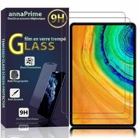 """Huawei MatePad Pro/ Pro 5G 10.8"""" MRX-W09 MRX-W19 MRX-AL09 MRX-AL19 (non compatible MatePad 5G 10.4""""): Lot / Pack de 2 Films de protection d'écran Verre Trempé"""