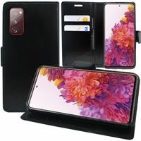 "Samsung Galaxy S20 FE/ S20 FE 4G/ S20 FE 5G/ S20 Fan Edition/ S20 Lite 6.5"" SM-G780F G780F/DSM G781B (non compatible Galaxy S20 6.2""): Etui portefeuille Support Video cuir PU - NOIR"