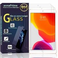 Apple iPad 10.2 (2019)/ iPad 7th Gen/ iPad (7th generation) A2197 A2200 A2198 [Les Dimensions EXACTES du Tablette: 250.6 x 174.1 x 7.5 mm]: Lot / Pack de 3 Films de protection d'écran Verre Trempé