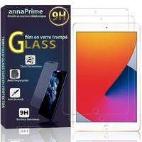 Apple iPad 10.2 (2020)/ iPad 8th Gen/ iPad (8th generation) A2428 A2429 A2270 A2430 [Les Dimensions EXACTES du Tablette: 250.6 x 174.1 x 7.5 mm]: Lot / Pack de 2 Films de protection d'écran Verre Trempé