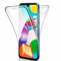 """Samsung Galaxy A41 6.1"""" SM-A415F A415F/DSN A415F/DSM [Les Dimensions EXACTES du telephone: 149.9 x 69.8 x 7.9 mm]: Coque Avant et Arrière Silicone 360° protection intégrale  - TRANSPARENT"""
