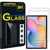 """Samsung Galaxy Tab S6 Lite 10.4"""" 2020 SM-P610 P615 P610N P610X P615C (non compatible Galaxy Tab S6 10.5""""): Lot / Pack de 2 Films de protection d'écran Verre Trempé"""