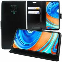"""Xiaomi Poco M2 Pro 6.67"""" M2003J6CI [Les Dimensions EXACTES du telephone: 165.8 x 76.7 x 8.8 mm]: Etui portefeuille Support Video cuir PU - NOIR"""