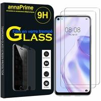 """Huawei P40 lite 5G/ Nova 7 SE 6.5"""" CDY-NX9B CDY-AN00 (non compatible Huawei P40 lite E 6.39""""/ P40 lite 6.4""""): Lot / Pack de 2 Films de protection d'écran Verre Trempé"""