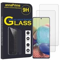 """Samsung Galaxy A Quantum 6.7"""" SM-A716N SM-A716SS [Les Dimensions EXACTES du telephone: 162.5 x 75.5 x 8.1 mm]: Lot / Pack de 2 Films de protection d'écran Verre Trempé"""