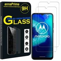 """Motorola Moto G8 Power Lite 6.5"""" XT2055-1 XT2055-2 XT2055-4 (non compatible Moto G8 Power): Lot / Pack de 2 Films de protection d'écran Verre Trempé"""