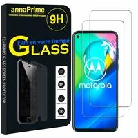"Motorola Moto G8 Power 6.4"" XT2041-1 XT2041-3 XT2041-4 (non compatible Moto G8 Power Lite/ G Power): Lot / Pack de 2 Films de protection d'écran Verre Trempé"