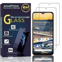 """Nokia 5.3 6.55"""" TA-1223 TA-1227 TA-1229 TA-1234 [Les Dimensions EXACTES du telephone: 164.3 x 76.6 x 8.5 mm]: Lot / Pack de 2 Films de protection d'écran Verre Trempé"""