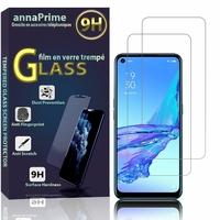 """Oppo A53 2020/ A53s/A32/ A33 (2020) 6.5"""" CPH2127 CPH2135 CPH2137 PDVM00: Lot / Pack de 2 Films de protection d'écran Verre Trempé"""