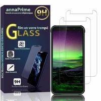 """Blackview BV5500/ BV5500 Plus/ BV5500 Pro 5.5"""" [Les Dimensions EXACTES du telephone: 152.2 x 75.5 x 14 mm]: Lot / Pack de 2 Films de protection d'écran Verre Trempé"""