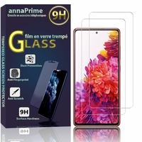 """Samsung Galaxy S20 FE/ S20 FE 4G/ S20 FE 5G/ S20 Fan Edition/ S20 Lite 6.5"""" SM-G780F G780F/DSM G781B (non compatible Galaxy S20 6.2""""): Lot / Pack de 2 Films de protection d'écran Verre Trempé"""