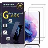 """Samsung Galaxy S21+ 5G/ S21 Plus 5G 6.7"""" SM-G996B G996B/DS (non compatible Galaxy S21 5G 6.2""""/ S21 Ultra 5G 6.8""""): Lot / Pack de 2 Films de protection d'écran Verre Trempé"""