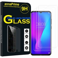 """DOOGEE N20 Pro 6.3"""" (non compatible DOOGEE N20) [Les Dimensions EXACTES du telephone: 159 x 77.1 x 8.8 mm]: Lot / Pack de 3 Films de protection d'écran Verre Trempé"""
