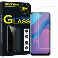"""Huawei Honor 9A/ Honor Play 9A 6.3"""" MOA-LX9N MED-AL20 MOA-AL20 MOA-AL00 MOA-TL00 (non compatible Honor 9 5.15""""): Lot / Pack de 3 Films de protection d'écran Verre Trempé"""