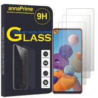 """Samsung Galaxy A21S 6.5"""" SM-A217F A217F/DS A217F/DSN A217M A217N (non compatible Galaxy A21): Lot / Pack de 3 Films de protection d'écran Verre Trempé"""