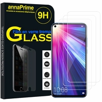 "Huawei Nova 7i/ P40 Lite 6.4"" JNY-L22B L21A L01A L21B L22A L02A LX2 (non compatible Huawei Nova 7/ Nova 7 SE/ Nova 7 Pro): Lot / Pack de 3 Films de protection d'écran Verre Trempé"