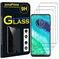 """Motorola Moto G8 6.4"""" XT2045-1 XT2045-2 XT2045-5 (non compatible Moto G8 Plus/ Play/ Power/ Power Lite): Lot / Pack de 3 Films de protection d'écran Verre Trempé"""