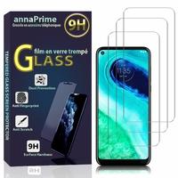 """Motorola Moto G Pro/ G Stylus 6.4"""" [Les Dimensions EXACTES du telephone: 158.6 x 75.8 x 9.2 mm]: Lot / Pack de 3 Films de protection d'écran Verre Trempé"""