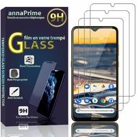 """Nokia 5.3 6.55"""" TA-1223 TA-1227 TA-1229 TA-1234 [Les Dimensions EXACTES du telephone: 164.3 x 76.6 x 8.5 mm]: Lot / Pack de 3 Films de protection d'écran Verre Trempé"""