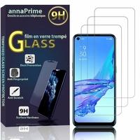 """Oppo A53 2020/ A53s/A32/ A33 (2020) 6.5"""" CPH2127 CPH2135 CPH2137 PDVM00: Lot / Pack de 3 Films de protection d'écran Verre Trempé"""