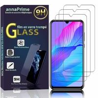 """Huawei P Smart S/ Huawei Y8p 6.3"""" AQM-LX1 AQM-LX10 (non compatible Huawei P smart 5.65""""): Lot / Pack de 3 Films de protection d'écran Verre Trempé"""