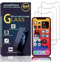 """Apple iPhone 12 mini 5.4"""" A2399 A2176 A2398 A2400 (non compatible iPhone 12 6.1""""): Lot / Pack de 3 Films de protection d'écran Verre Trempé"""