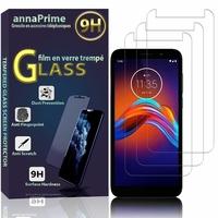 "Motorola Moto E6 Play 5.5"" XT2029 XT2029-1 (non compatible Motorola Moto E6): Lot / Pack de 3 Films de protection d'écran Verre Trempé"