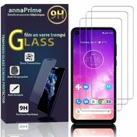 """Motorola One Vision/ Motorola P50 6.3"""" XT1970-1 XT1970-2 XT1970-3 (non compatible Motorola One Vision Plus): Lot / Pack de 3 Films de protection d'écran Verre Trempé"""