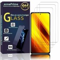 """Xiaomi Poco X3 NFC/ Poco X3 6.67"""" M2007J20CG M2007J20CT MZB07Z0IN MZB07Z1IN MZB07Z2IN MZB07Z3IN MZB07Z4IN MZB9965IN M2007J20CI: Lot / Pack de 3 Films de protection d'écran Verre Trempé"""