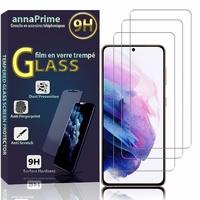 """Samsung Galaxy S21+ 5G/ S21 Plus 5G 6.7"""" SM-G996B G996B/DS (non compatible Galaxy S21 5G 6.2""""/ S21 Ultra 5G 6.8""""): Lot / Pack de 3 Films de protection d'écran Verre Trempé"""