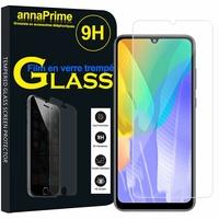 "Huawei Y6p 6.3"" MED-LX9 MED-LX9N ART-L29 [Les Dimensions EXACTES du telephone: 159.1 x 74.1 x 9 mm]: 1 Film de protection d'écran Verre Trempé"