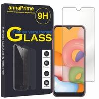 """Samsung Galaxy A01 5.7"""" SM-A015F A015F/DS A015G A015G/DS A015M A015M/DS (non compatible Galaxy A10 6.2""""): 1 Film de protection d'écran Verre Trempé"""