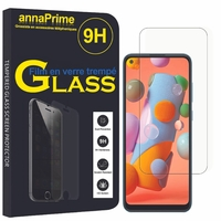 "Samsung Galaxy A11 6.4"" SM-A115F A115M A115F/DS A115F/DSN A115M/DS [Les Dimensions EXACTES du telephone: 161.4 x 76.3 x 8 mm]: 1 Film de protection d'écran Verre Trempé"