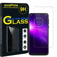 "Motorola One Macro/ Moto G8 Play 6.2"" PAGS0005IN/ XT2015/ XT2015-2 [Les Dimensions EXACTES du telephone: 157.6 x 75.4 x 9 mm]: 1 Film de protection d'écran Verre Trempé"