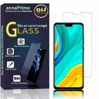 """Huawei Y8s 6.5"""" JKM-LX1 JKM-LX2 JKM-LX3 [Les Dimensions EXACTES du telephone: 162.4 x 77.1 x 8.1 mm]: 1 Film de protection d'écran Verre Trempé"""