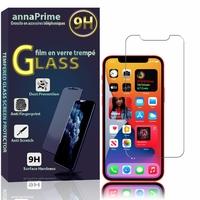 """Apple iPhone 12 mini 5.4"""" A2399 A2176 A2398 A2400 (non compatible iPhone 12 6.1""""): 1 Film de protection d'écran Verre Trempé"""