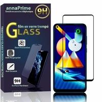 "Samsung Galaxy M11 6.4"" SM-M115F M115F/DS M115F/DSN [Les Dimensions EXACTES du telephone: 161.4 x 76.3 x 9 mm]: 1 Film de protection d'écran Verre Trempé"